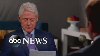 Former President Clinton reads note left by George H.W. Bush: 'I love that letter'