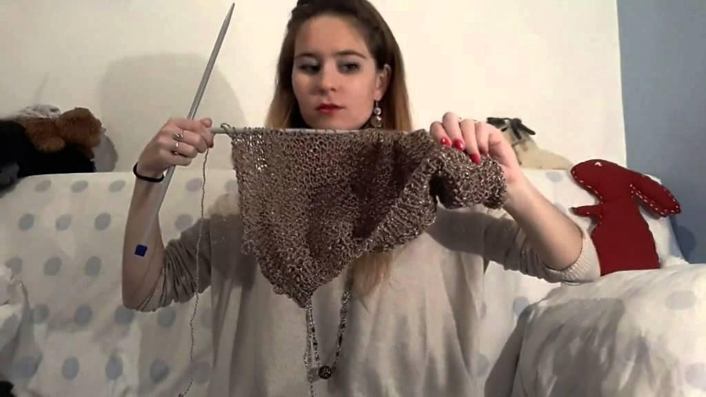 Préférence Le pull doré, au point mousse. - YouTube OZ63