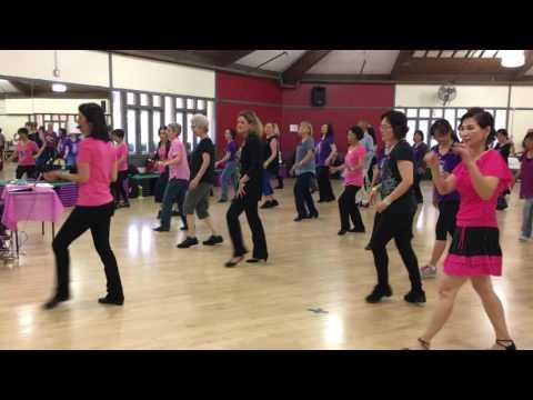 Lemonade Line Dance by Jo Thompson Szymanski & Malene Jakobsen @ 2016 SnK Jo's Workshop