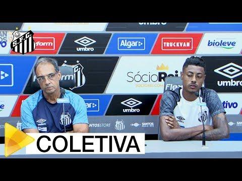 Bruno Henrique e Dr. Jorge Merouço   COLETIVA   (20/04/18)