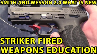 Smith & Wesson 2.0 9MM, .40, .45 What's New? You Want One ! $600 WeaponsEducation '
