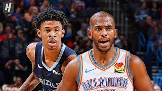 Memphis Grizzlies vs Oklahoma City Thunder - Full Highlights | December 18 | 2019-20 NBA Season