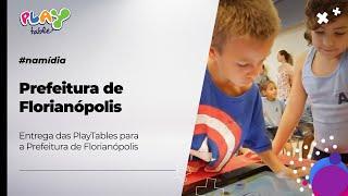 Mesas Digitais nas Escolas Municipais de Florianópolis