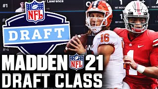 2021 NFL Draft Class with Real Rookies in Madden 21