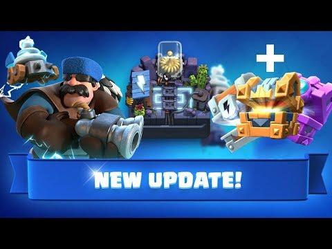Decemberi Update Bemutatása! | + A Három Új Chest Kinyitása!