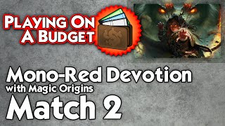 MTG Standard: Mono-Red Devotion vs G/W Assault Formation - Playing on a Budget