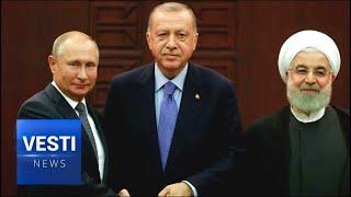 Russia-Turkey-Iran Summit: Vladimir Putin Says Syria Won't Be Carved Up Into Zones of Influence!