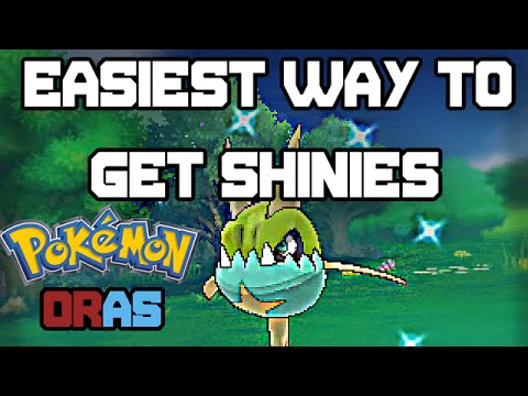 Pokemon Omega Ruby And Alpha Sapphire: Easiest Way to Get Shiny Pokemon (Chain Fishing Guide)