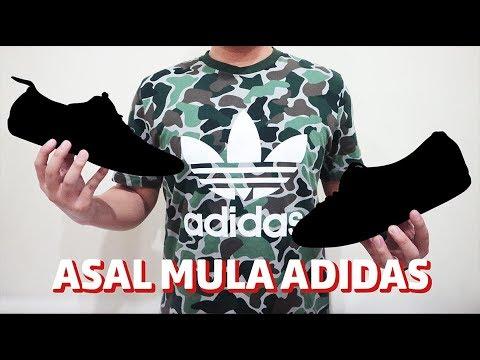 ASAL MULA ADIDAS + KETEMU ADIDAS DARI 10 TAHUN YG LALU!! Bahasa Indonesia