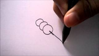 "CARA MENGGAMBAR CILOG DARI HURUF ""Q"" | HOW TO DRAW A CILOG FROM A LETTER ""Q"""