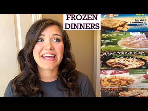 WHAT I EAT IN A WEEK: FROZEN MEALS