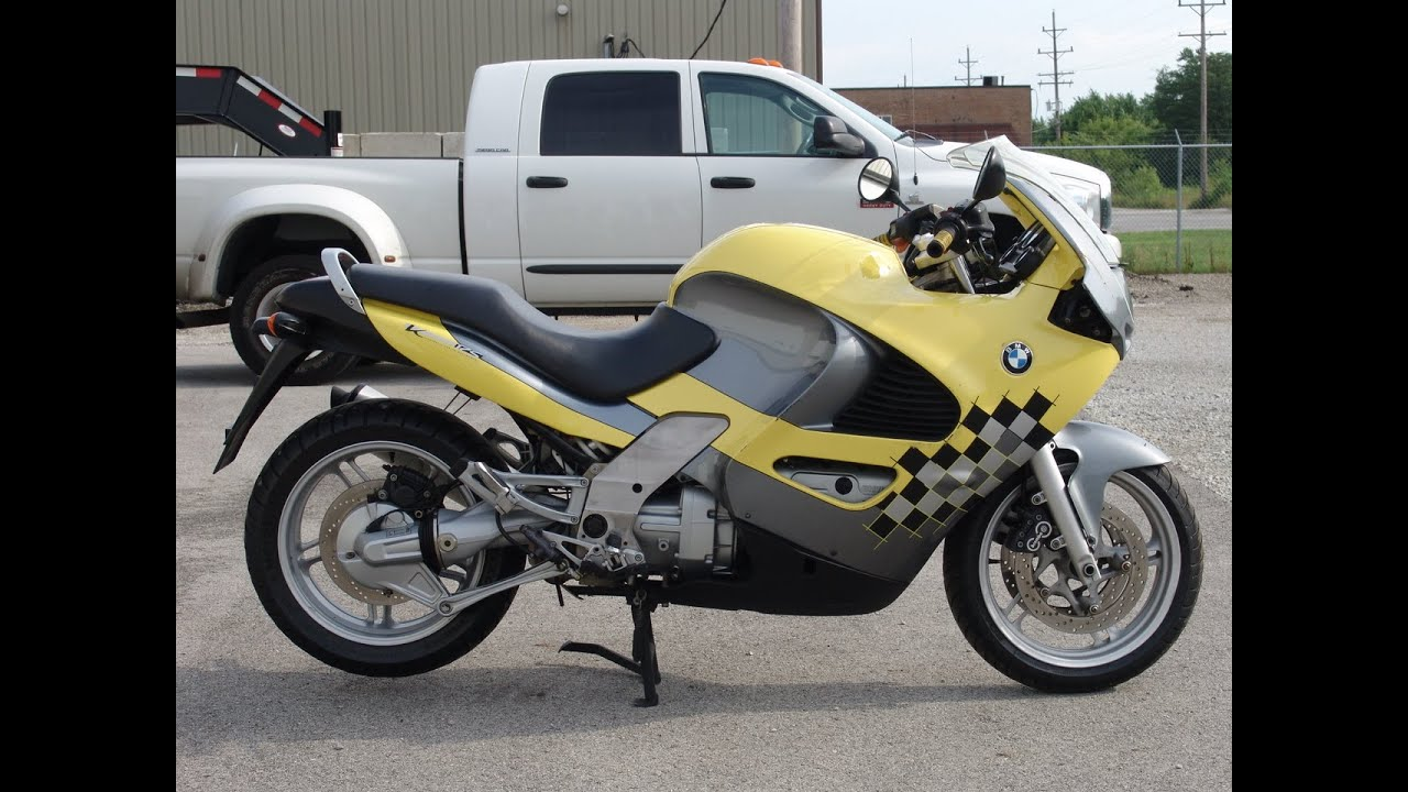 1998 BMW K1200RS Yellow