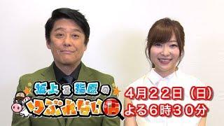 4月22日(日)よる6時30分 初回スペシャル! 毎週日曜 よる8:00~放送『...
