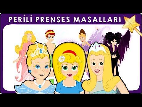 3 Masal | Perili Prenses Masalları | Uyuyan güzel - Parmak Kız - Sindirella | Adisebaba Masal