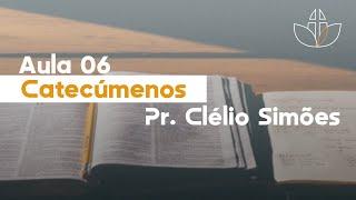 EBD - Catecúmenos (Aula 06: Batismo com o Espírito Santo) - 02/08/2020