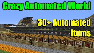 Minecraft Automated Stuff | Gold, Iron, Farms, Villagers, More | Lots of Minecraft Automated Stuff