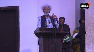 Reconfiguring Nigeria: Buhari Has No Right To Say No - Prof. Soyinka
