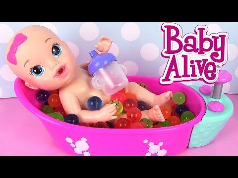 Poupée Baby Alive Sips N' Cuddles Câlins et Petites Gorgées Poupon