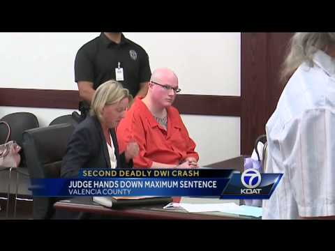 Maximum sentence handed down in deadly DWI...