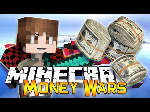 Minecraft: MONEY WARS GAME #4 - TEAMS OF 2! Get to the Chopper! (Epic Mini-Game)