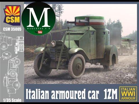 Download Italian Armoured Car 1ZM (CSM 1:35)