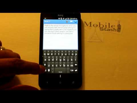 Sprint HTC EVO 4G LTE: Keyboard Options