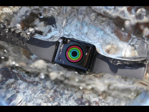 How to use workout on apple watch series 3 in waterproof