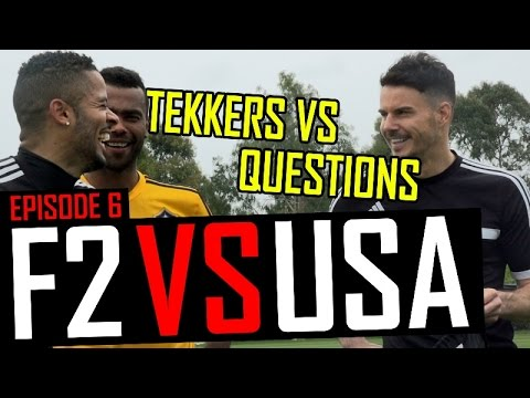 Tekkers vs Questions with Ashley Cole | F2 vs USA | Episode 6