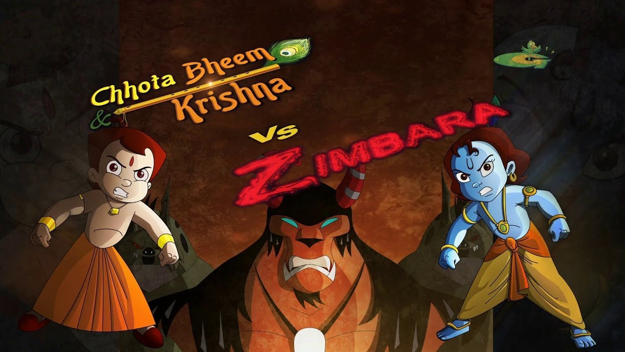 Chhota Bheem Aur Krishna Vs Zimbara Movie Song Youtube