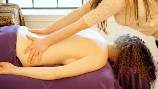 Video Best Relaxation Back Massage Techniques. How To Give A Relaxing Back Rub, ASMR Christen Renee download MP3, 3GP, MP4, WEBM, AVI, FLV Mei 2018