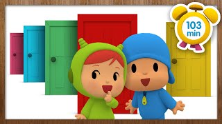 🚪 POCOYO in ENGLISH - The secret door [103 minutes] | Full Episodes | VIDEOS and CARTOONS for KIDS