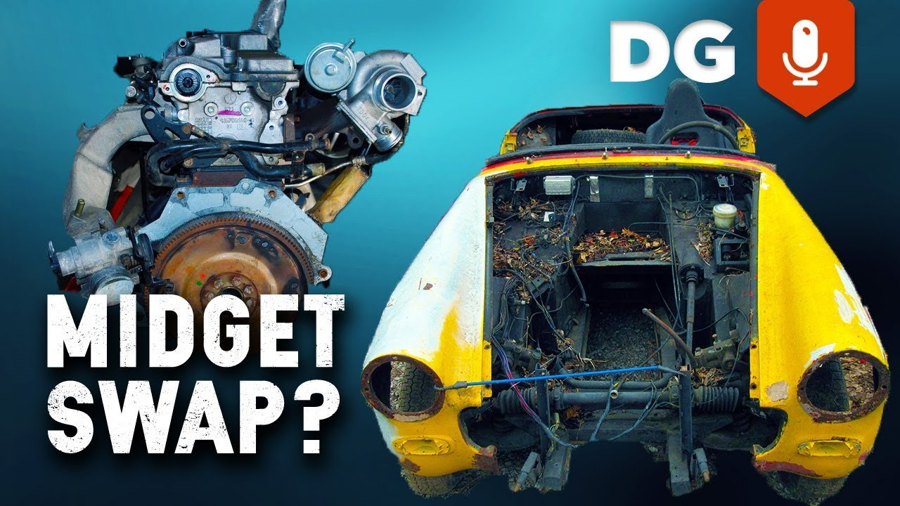 Engine swap midget