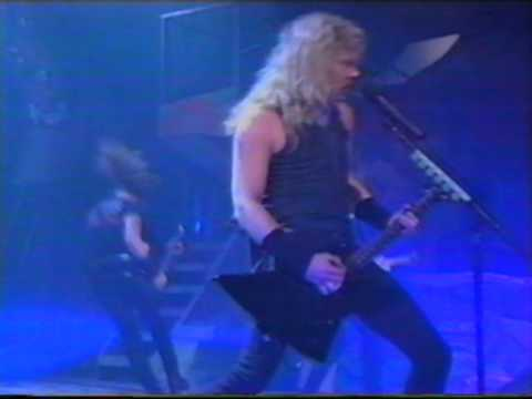 Metallica - Enter Sandman live MTV Awards 1991
