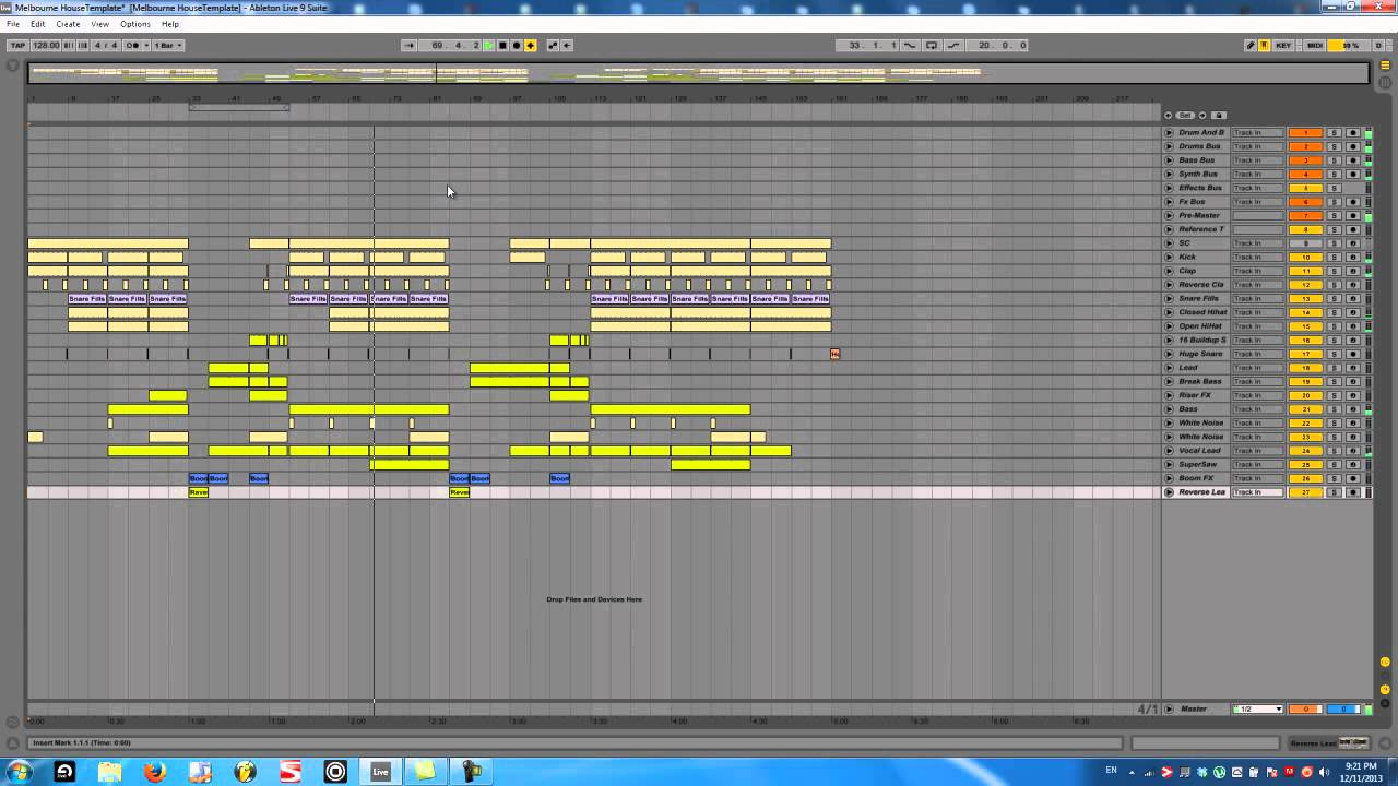 how to make an edm drop in ableton