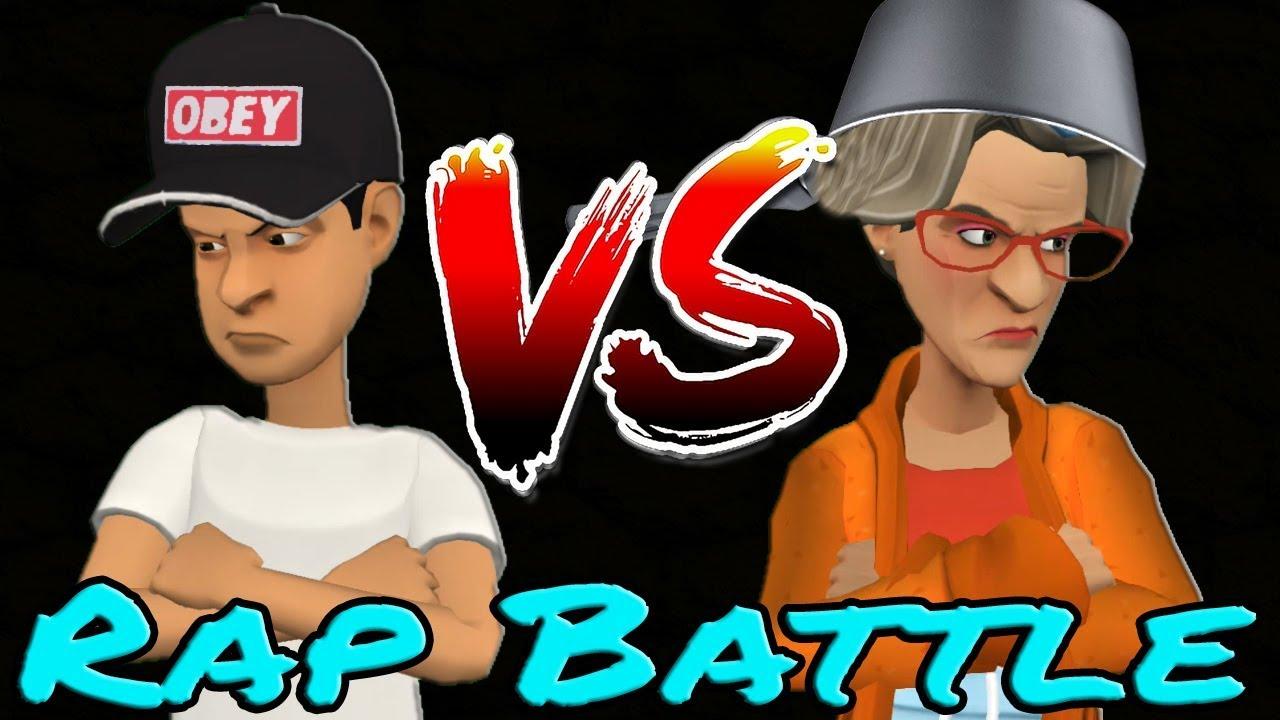 Rap battle,Βαγγελάκης VS Τασούλα (Gamer Pro)