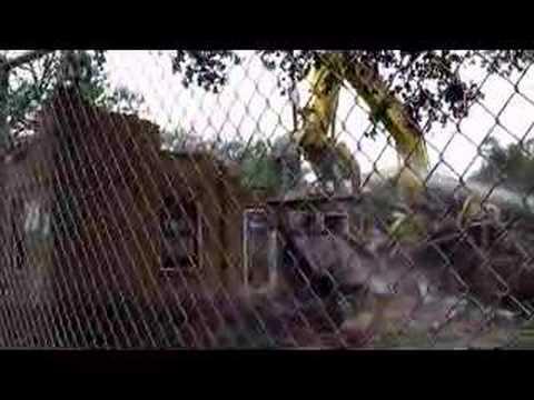 Demolition of Lafitte Housing Development