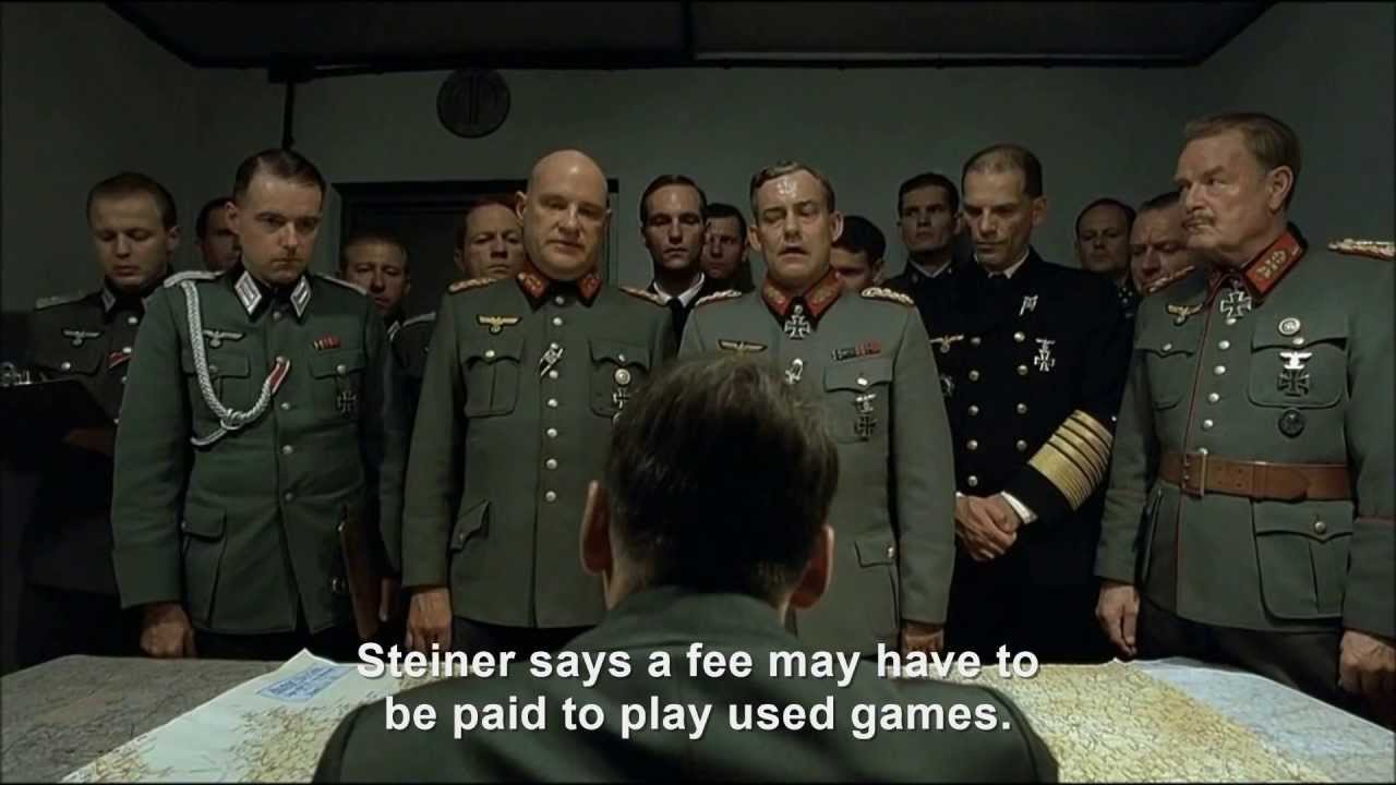 Citaten Hitler Xbox : Hitler rants about the xbox one youtube