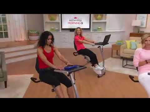 Wirk Ride Exercise Bike Workstation And