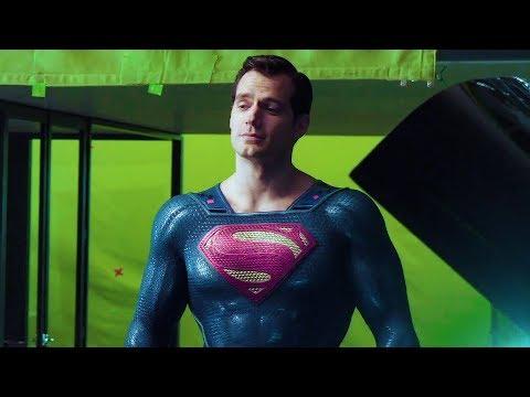 Snyder's Superman On The Set 'Justice League' Featurette