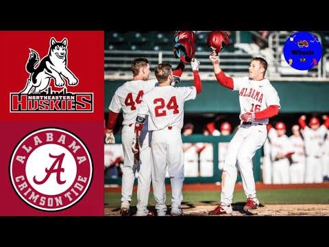 Northeastern Vs Alabama   Full Series Highlights   2020 College Baseball Highlights