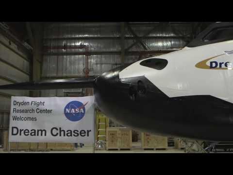 NASA Administrator Flies Dream Chaser Simulator