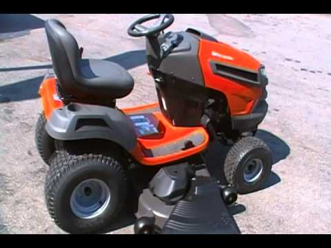 Husqvarna Lawn Yard Tractor YouTube