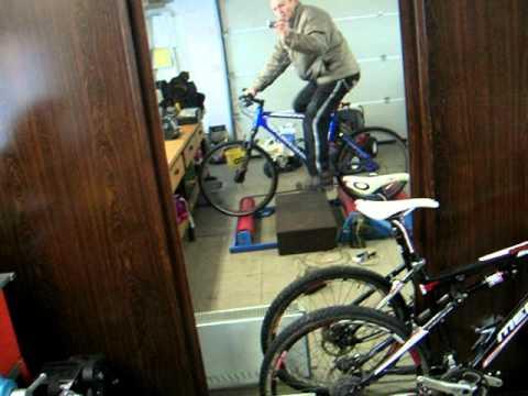 Bike rollers D.I.Y. - test