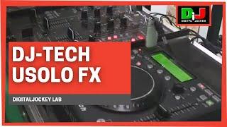 DJ-Tech uSolo FX - World premiere @ DigitalJockey Lab