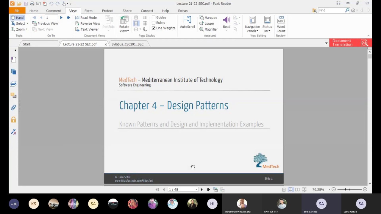 Lecture 21a Design Patterns Software Engineering Concepts Youtube