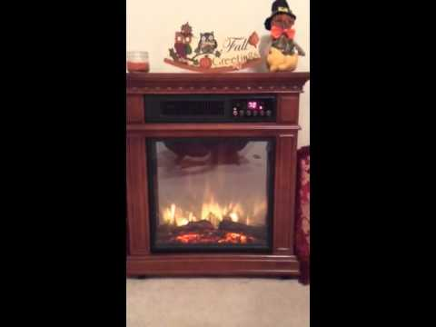 Dresden Electric Fireplace - YouTube