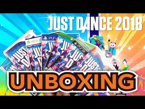 Just Dance 2018 (PS4/Switch/Xbox One/PS3/Xbox 360/Wii/Wii U) Unboxing !!