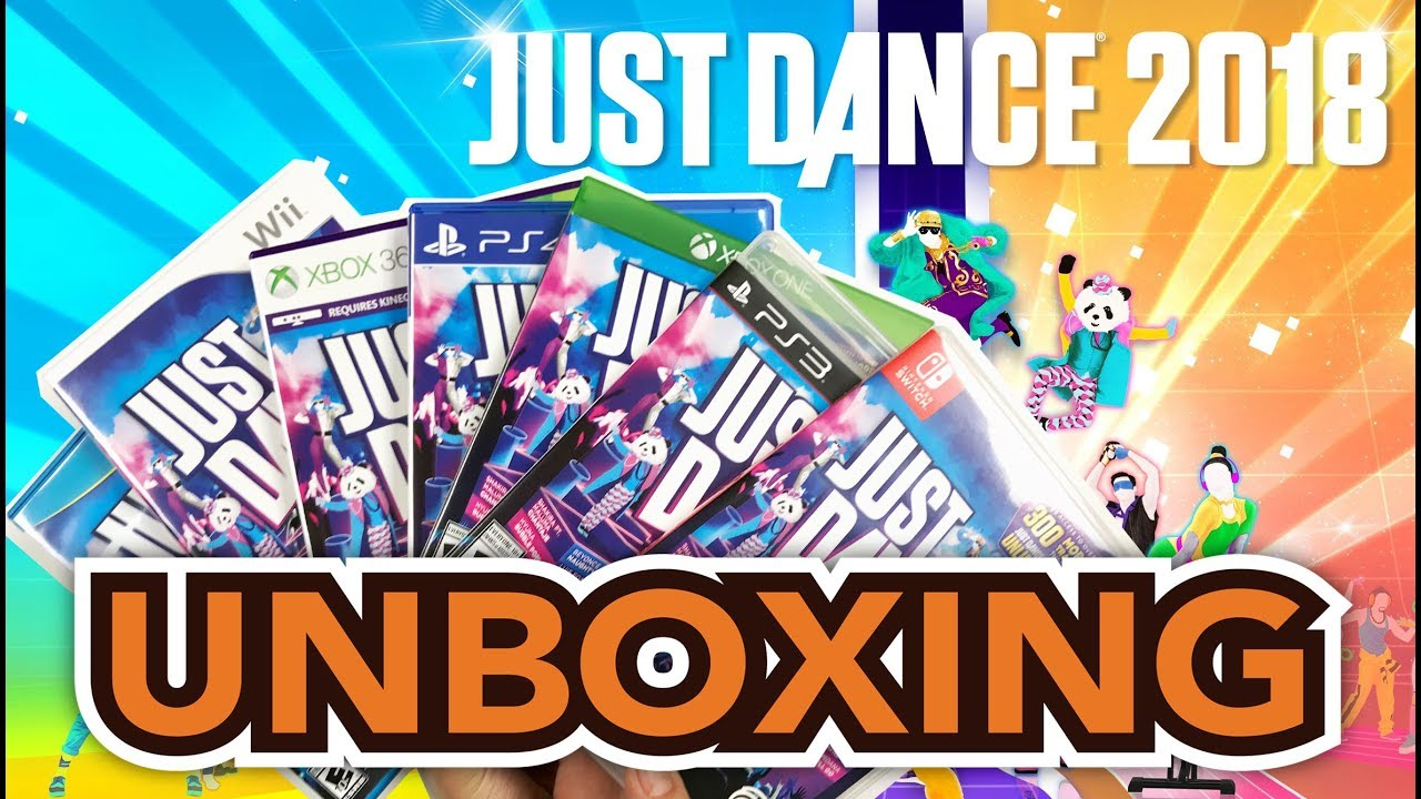 Just Dance 2018 (PS4/Switch/Xbox One/PS3/Xbox 360/Wii/Wii U) Unboxing !! - YouTube
