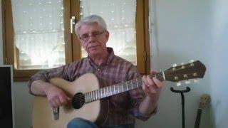 Elle est d'ailleurs ( Guitar Fingerstyle  ) Pierre Bachelet