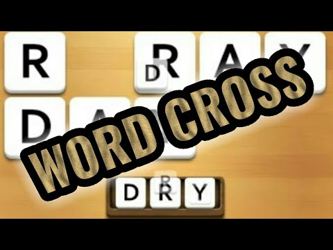 WORD CROSS By WePlay Word Games | Free Mobile Game | Android Gameplay HD Youtube YT Video
